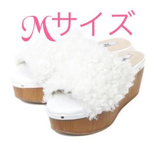 アールアンドイー(R&E)のR&E プードルサンダル ♡新品未使用♡(サンダル)