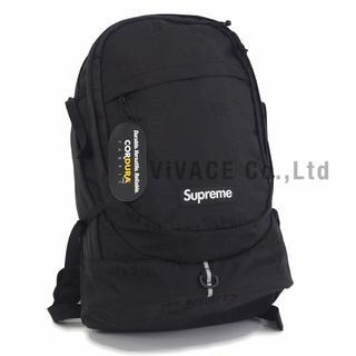 シュプリーム(Supreme)のSupreme Backpack 19ss 黒(バッグパック/リュック)