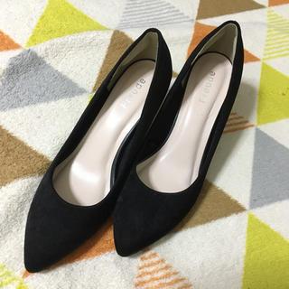 シマムラ(しまむら)のしまむら♡シンプル黒パンプス(ハイヒール/パンプス)