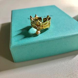 ディズニー(Disney)の送料込み♡ディズニー 王冠 指輪(リング(指輪))