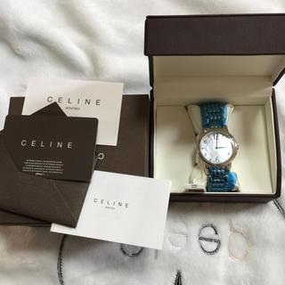 セリーヌ(celine)のceline セリーヌ ホワイト×シルバー時計.専用ページ(腕時計)