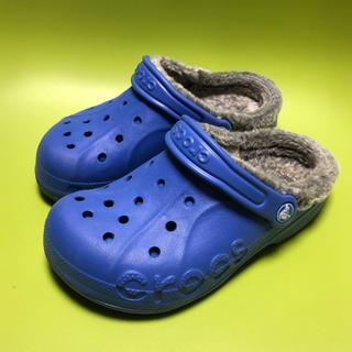 クロックス(crocs)の20㎝☆クロックスボアサンダル(サンダル)