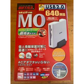 バッファロー(Buffalo)のBuffalo 640MB MOドライブ MO-PL640U2 新品(PC周辺機器)