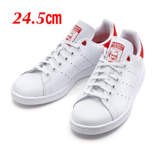 adidas - 【24.5㎝】白  adidas  スタンスミス  ハート