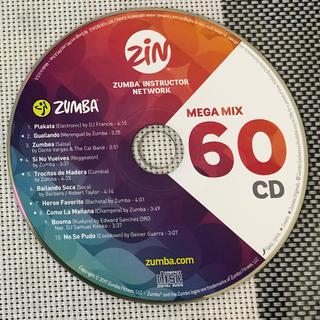 ズンバ(Zumba)のZUMBA CD / MEGA MIX VOLUME 60(スポーツ/フィットネス)