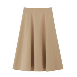 エムプルミエ(M-premier)のエムズセレクト 切替Aラインスカート キャメル 新品 エムプルミエ  36  (ひざ丈スカート)