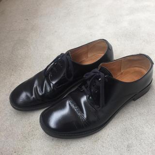 ドアーズ(DOORS / URBAN RESEARCH)のアーバンリサーチドアーズ レースアップシューズ 黒 牛革(ローファー/革靴)