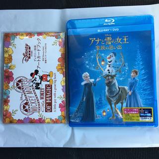 ディズニー(Disney)のアナと雪の女王 家族の思い出 Blu-ray+DVD(アニメ)