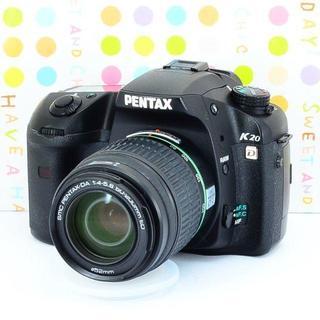 ペンタックス(PENTAX)の✨Wi-Fiスマホ転送OK✨本格的✨ペンタックス PENTAX K20D(デジタル一眼)