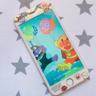 iPhone6/6s/7/8 強化ガラスフィルム アンパンマン
