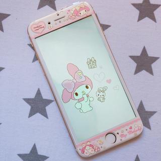 iPhone6/6s/7/8 強化ガラスフィルム マイメロ
