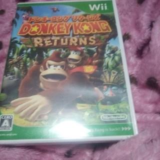 ウィー(Wii)のwii ドンキーコングリターンズ(家庭用ゲームソフト)