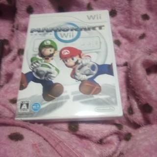 ウィー(Wii)のマリオカートWii 傷無し(家庭用ゲームソフト)