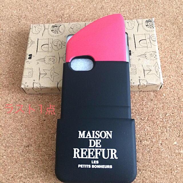 Maison de Reefur - 新品♡MAISON DE REEFUR メゾンド リーファーリップiPhone7の通販 by mi-mi|メゾンドリーファーならラクマ