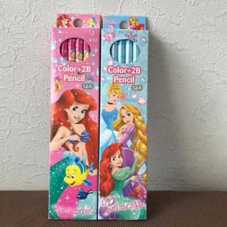 ディズニー(Disney)のアリエル プリンセス 鉛筆 24本セット 新品未開封 送料込(鉛筆)