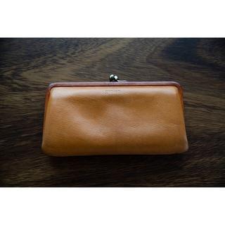 ゲンテン(genten)のgenten Gソフト 口金二つ折り長財布(財布)