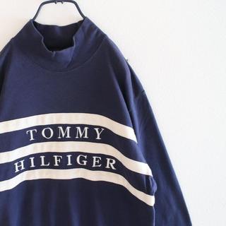 トミーヒルフィガー(TOMMY HILFIGER)のUS トミーヒルフィガー モックネック タートル ロングT(Tシャツ/カットソー(七分/長袖))
