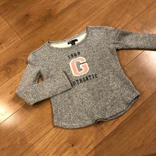 ギャップキッズ(GAP Kids)のGAP kidsトレーナー グレー 120(Tシャツ/カットソー)