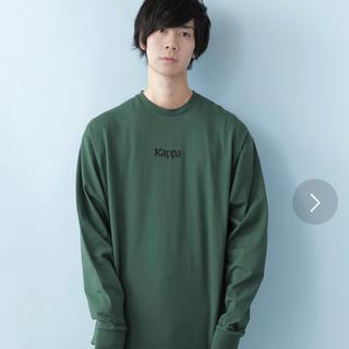 カッパ(Kappa)のkappa  クルーネックトレーナー(Tシャツ/カットソー(七分/長袖))