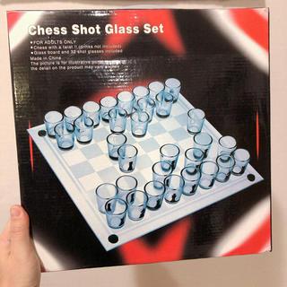 【未使用品☆】ショットグラス チェスセット(オセロ/チェス)