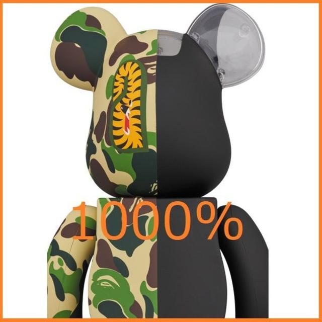 MEDICOM TOY(メディコムトイ)の込 1000% BAPE × NEIGHBORHOOD ベアブリック ネイバー エンタメ/ホビーのフィギュア(その他)の商品写真