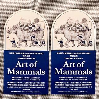 大哺乳類展2 (大ほにゅうるい展2) 割引引換券 2枚(美術館/博物館)