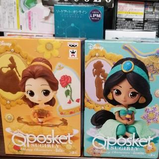 ディズニー(Disney)のQposket SUGIRLY 美女と野獣 ベル 二種類フィギュアセット(アニメ/ゲーム)