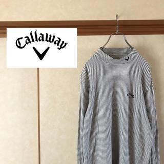 キャロウェイゴルフ(Callaway Golf)のCallaway Golf キャロウェイゴルフ モックネック 長袖Tシャツ L(Tシャツ/カットソー(七分/長袖))