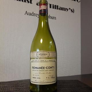 DRC  ロマネコンティ マグナムボトル  1970年 空き瓶 空きビン 超希少(ワイン)