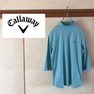 キャロウェイゴルフ(Callaway Golf)のCallaway Golf キャロウェイゴルフバックジップ モックネック T(Tシャツ(長袖/七分))