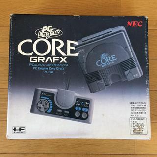 """エヌイーシー(NEC)のPC-Engine """"CORE GRAFX"""" NEC(家庭用ゲーム機本体)"""