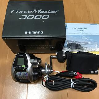 シマノ(SHIMANO)のシマノ フォースマスター3000 電動リール使用少ない(リール)