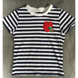 グラニフ(Design Tshirts Store graniph)のはらぺこあおむし ボーダーTシャツ(Tシャツ/カットソー)