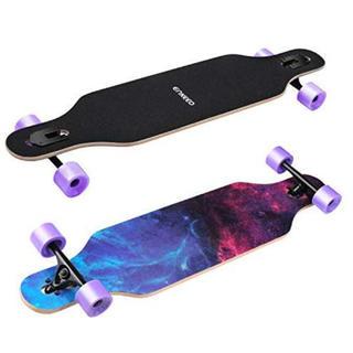 新品未使用 ロングスケートボード(スケートボード)