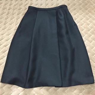 アクアガール(aquagirl)の☆専用☆アクアガール CROLLA スカート ブラック 38(ひざ丈スカート)