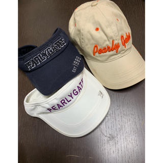 パーリーゲイツ(PEARLY GATES)のパーリーゲイツ帽子3点(帽子)