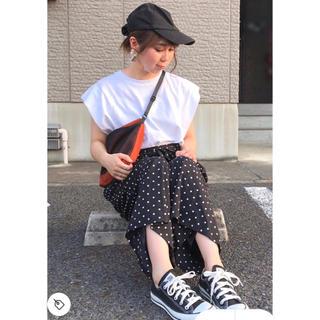 カスタネ(Kastane)の美品 ♡ ドットスカーチョ(その他)