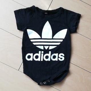 アディダス(adidas)のアディダス 半袖ロンパース(ロンパース)