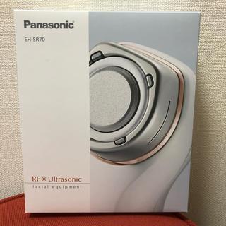 パナソニック(Panasonic)のパナソニック 美顔器 RF 海外対応 コードレス ピンク調 EH-SR71-P(フェイスケア/美顔器)