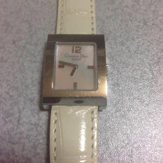 ディオール(Dior)のクリスチャンデイオール ピンクシェル レディース(腕時計)