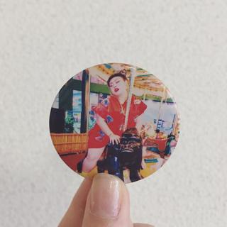 渡辺直美 缶バッジ(お笑い芸人)