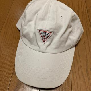 ゲス(GUESS)のゲス 白 キャップ 帽子 guess H&M (キャップ)