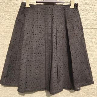 アナイ(ANAYI)のANAYI アナイ スカート ダークブラウン 36(ひざ丈スカート)