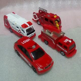 タカラトミー(Takara Tomy)のトミカ ハイパーレスキュー & 消防車 セット(ミニカー)