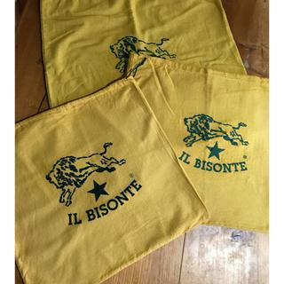 IL BISONTE - IL BISONTE イルビゾンテ 保存袋 巾着 大判3枚セット