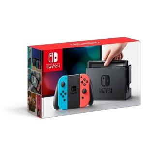 Nintendo Switch - 【美品】ニンテンドー スイッチ ネオンブルー/レッド switch