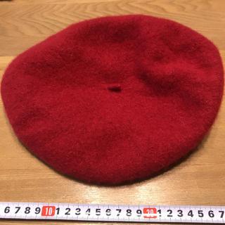 イーハイフンワールドギャラリー(E hyphen world gallery)のe hyphen 赤ベレー帽(ハンチング/ベレー帽)