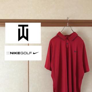 ナイキ(NIKE)の【美品】NIKE×TIGER WOODS COLLECTION コラボポロシャツ(ポロシャツ)
