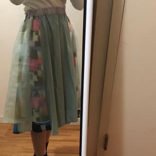 メリージェニー(merry jenny)のmerryjenny レース スカート(ひざ丈スカート)