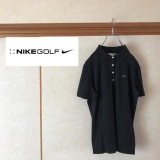 ナイキ(NIKE)の【極美品】NIKE GOLF ナイキゴルフ クラシックロゴ 半袖ポロシャツ (ポロシャツ)